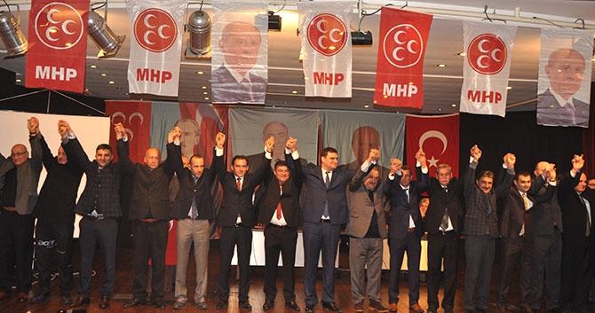 MHP Akçaabat'ta Kongre Yapıldı. galerisi resim 1