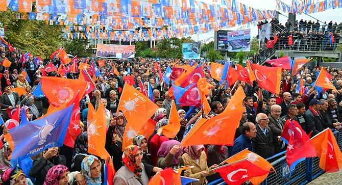 AK Parti'ye Akçaabat Morali galerisi resim 1