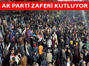AK Parti Zaferi Kutluyor