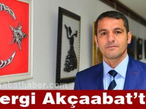 Trabzon'un Akçaabat ilçesinde fiografi sergisi açıldı.