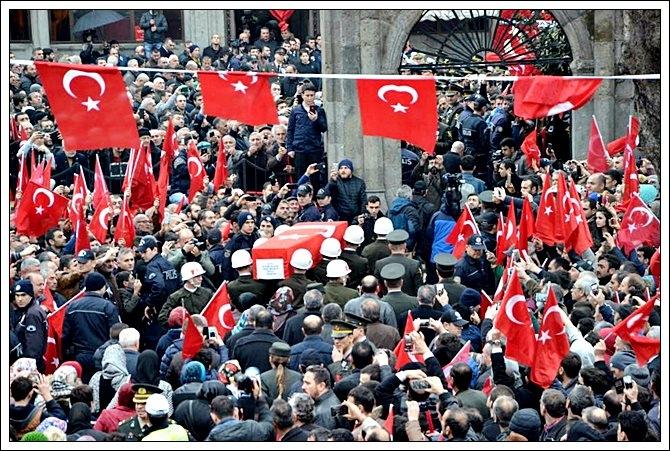 Trabzonlu Şehidimize Son Görev galerisi resim 19
