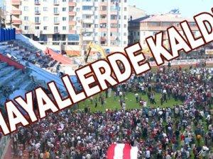 Fatih Stadı Yıkıldı