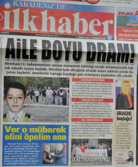 Gazete Manşetleri galerisi resim 2