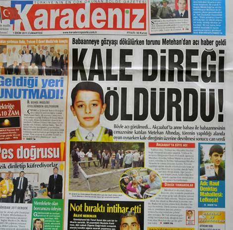Gazete Manşetleri galerisi resim 3
