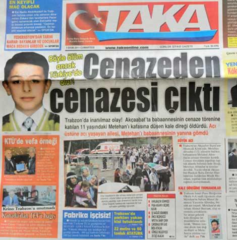Gazete Manşetleri galerisi resim 5