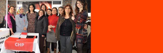 CHPden Kadınlar Günü