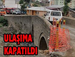 Osmanbaba Köprüsü Kapatıldı