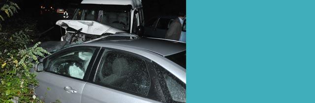 Yıldızlıda Trafik Kazası