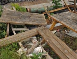 Akçakalede Masaları Kırdılar