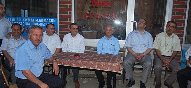 Bıyıklıoğlu köylere konuk oldu.