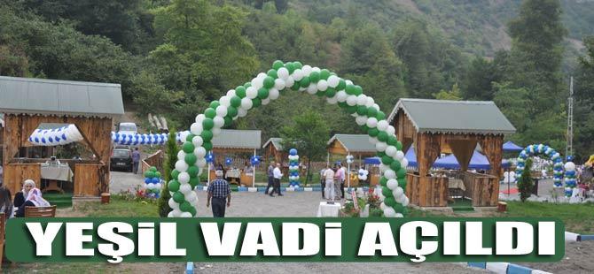 Akçaabat Yeşil Vadi Hizmete Açıldı