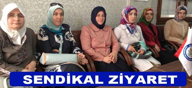 Eğitim Bir-Sen Bayanlar Komisyonu Akçaabat'ı Ziyaret etti.