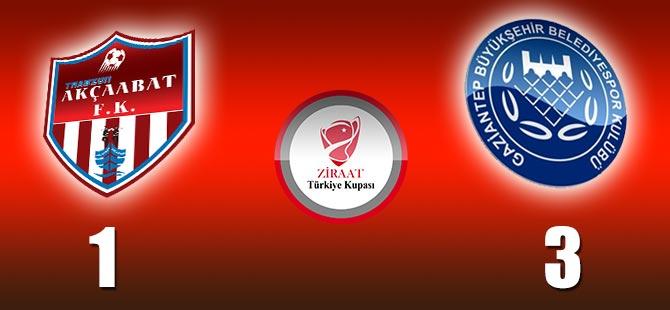 Trabzon Akçaabat FK 1-3 Gaziantep BŞB
