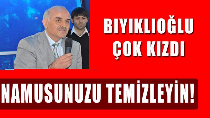 """AK Parti Milletvekili çok sert konuştu """"namusunuzu temizleyin"""""""
