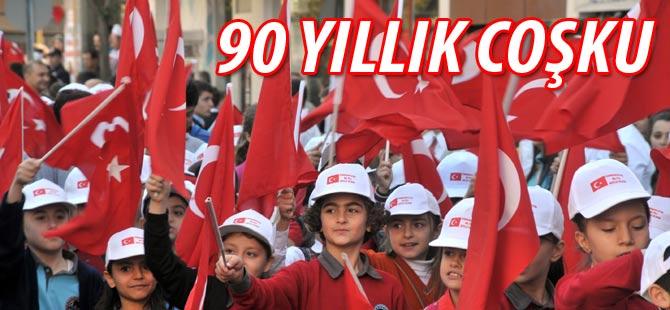Akçaabat'ta 29 Ekim Cumhuriyet Bayramı, törenlerle kutlandı