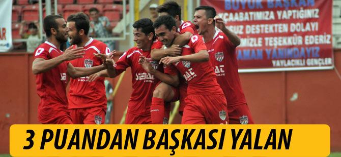 Akçaabat FK'nın Hesabı 3 Puan üzerine