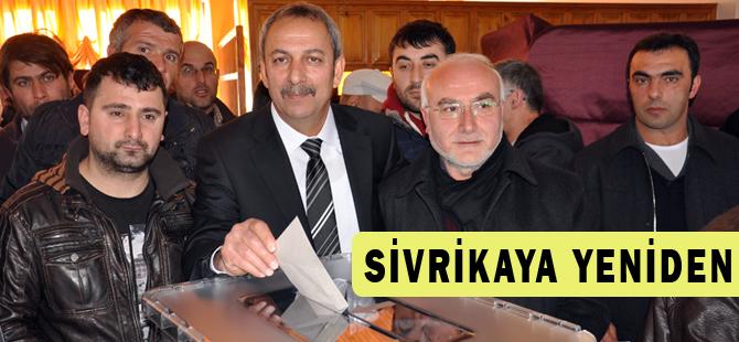 Sivrikaya yeniden başkan