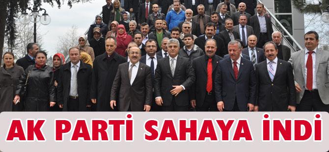 AK Parti Akçaabat'ta seçim çalışmasına başladı