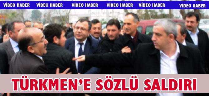 Şefik Türkmen'e saldırı girişimi