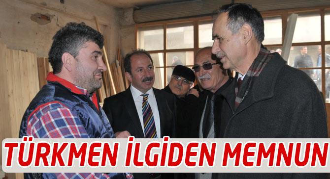 Türkmen Yaylacıklılarla Buluştu