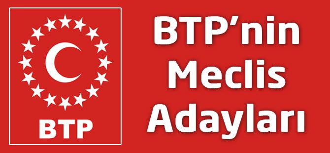 BTP Akçaabat Belediye Meclis Aday Kistesi