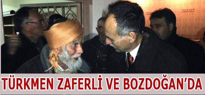 AK Parti Zaferli ve Bozdoğan Köylerini Ziyaret etti.