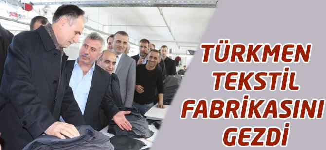 Şefik Türkmen Seçim Gezisinde
