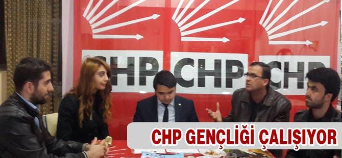CHP Gençliği Çalışıyor
