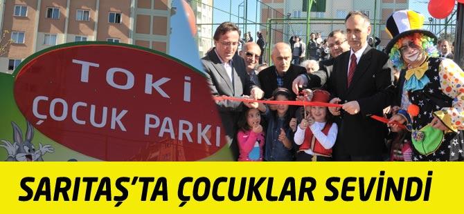 Sarıtaş TOKİ'ye Çocuk Parkı