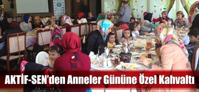 Aktif-Sen'den Anneler Gününe Özel Kahvaltı