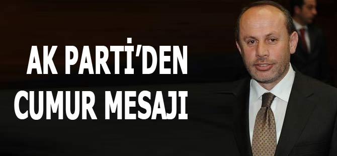 AK Parti'den Mustafa Cumur Mesajı