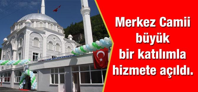 Fıstıklı Mahallesi Camii Hizmete Açıldı