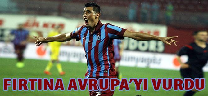 Trabzonspor Avrupa'yı Titretti.