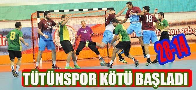 Tütünspor Türkiye Kupasına Yenilgi ile Başladı