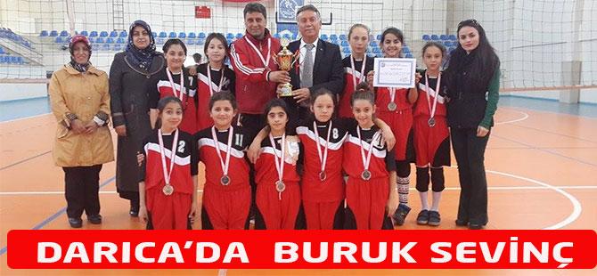 Darıca Ortaokulu Şampiyonada İkinci Oldu