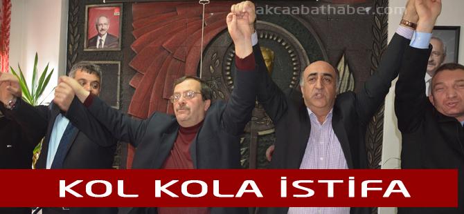 Akçaabat CHP'de Toplu İstifa