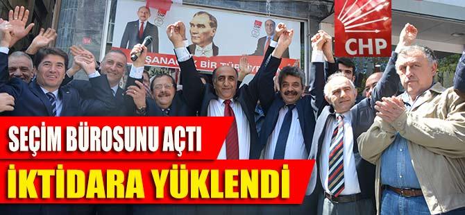 CHP Akçaabat'ta seçim bürosunu açtı.