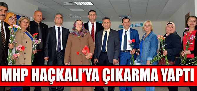 MHP Haçkalı'ya Çıkarma Yaptı