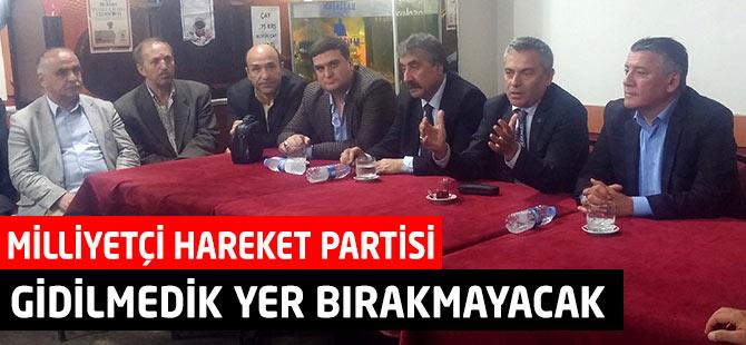 MHP Akçaabat ilçe teşkilatı çalışmalarına son sürat devam ediyor.