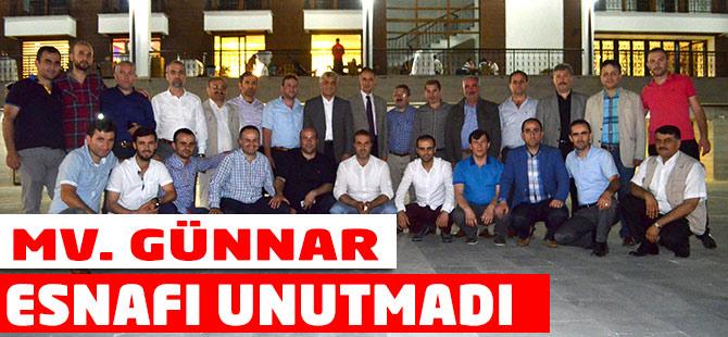 Mv. Günnar Esnafı Unutmadı