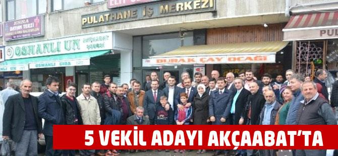 AK Parti'den Akçaabat'a Çıkarma