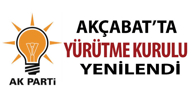 AK Parti'de Yürütme Yenilendi