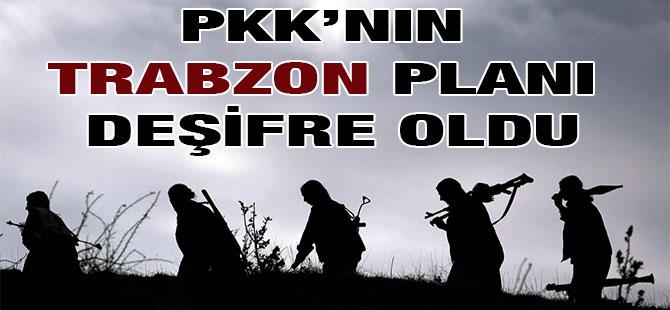 PKK'nın Trabzon Planı Deşifre Oldu