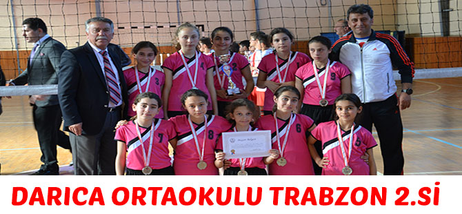 Darıca Ortaokulu Trabzon 2.si
