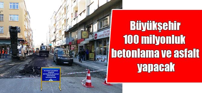 Büyükşehir'den Asfaltlama