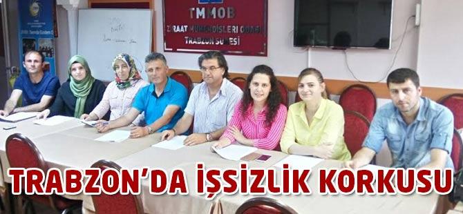 Trabzon'da İşsizlik Korkusu