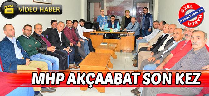 MHP Son kez Toplandı