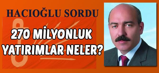 CHP İlçe Başkanından basın Açıklaması