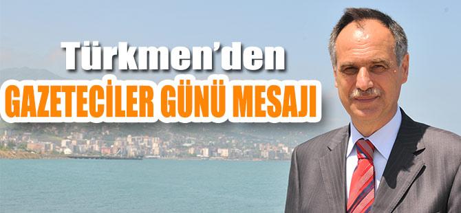 Türkmen Gazeteciler Gününü Kutladı