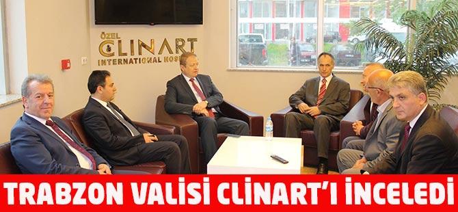 Trabzon Valisi Clinart'ı İnceledi